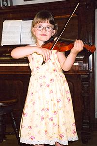 Chloé et son violon - copie